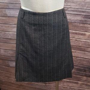 RENE LEZARD Wool Blend Side Pleat skirt size 40
